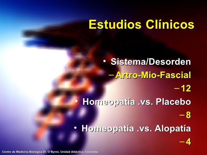 Estudios Clínicos <ul><li>Sistema/Desorden </li></ul><ul><ul><li>Artro-Mio-Fascial </li></ul></ul><ul><ul><li>12 </li></ul...