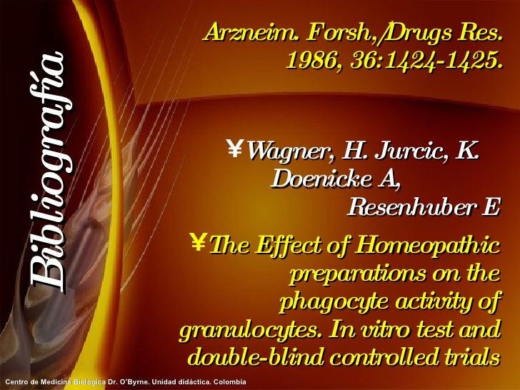 Arzneim. Forsh,/Drugs Res. 1986, 36:1424-1425. <ul><li>Wagner, H. Jurcic, K.  Doenicke A,  Resenhuber E </li></ul><ul><li>...