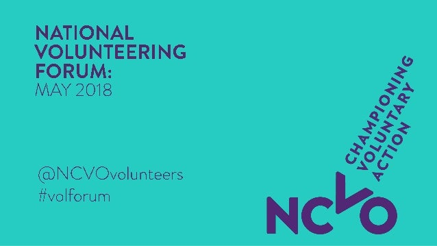 Coming soon: a view from the ICO National Volunteering Forum – 15 May 2018 Richard Sisson, Senior Policy Officer, Policy &...