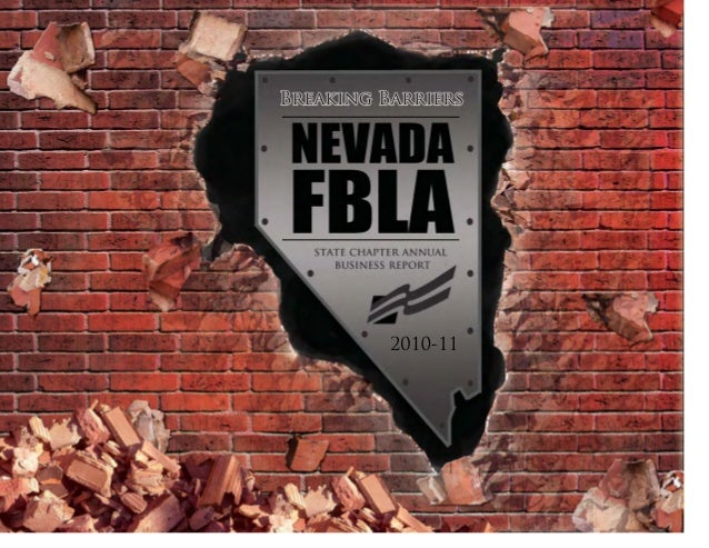 fbla annual business report example