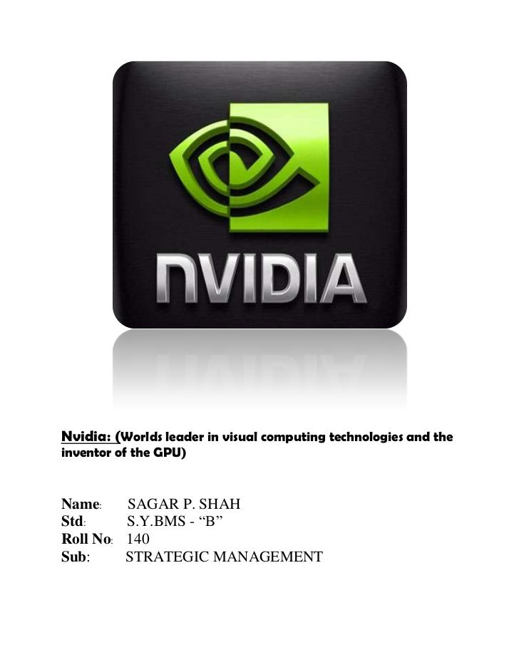 nvidia swot analysis Taking advantage of directx 11 and a boat-load of new tech from both nvidia  and amd, the game is 64-bit only and makes use of that.