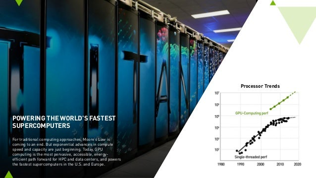 POWERING THE WORLD'S FASTEST SUPERCOMPUTERS For traditional computing approaches, Moore's Law is coming to an end. But exp...