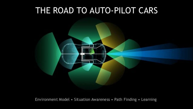 25 THE ROAD TO AUTO-PILOT CARS Environment Model • Situation Awareness • Path Finding • Learning