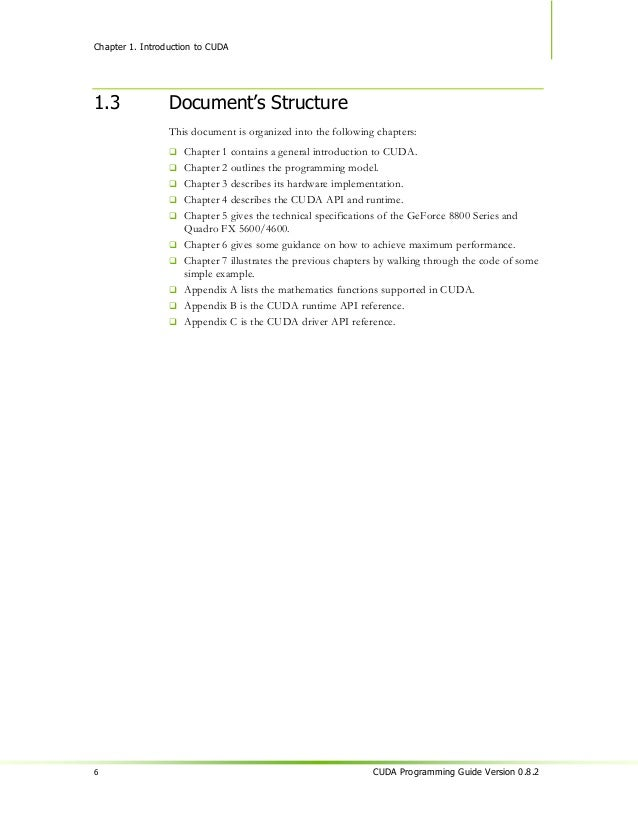 Chapter 2.                                                       Programming Model2.1             A Highly Multithreaded C...