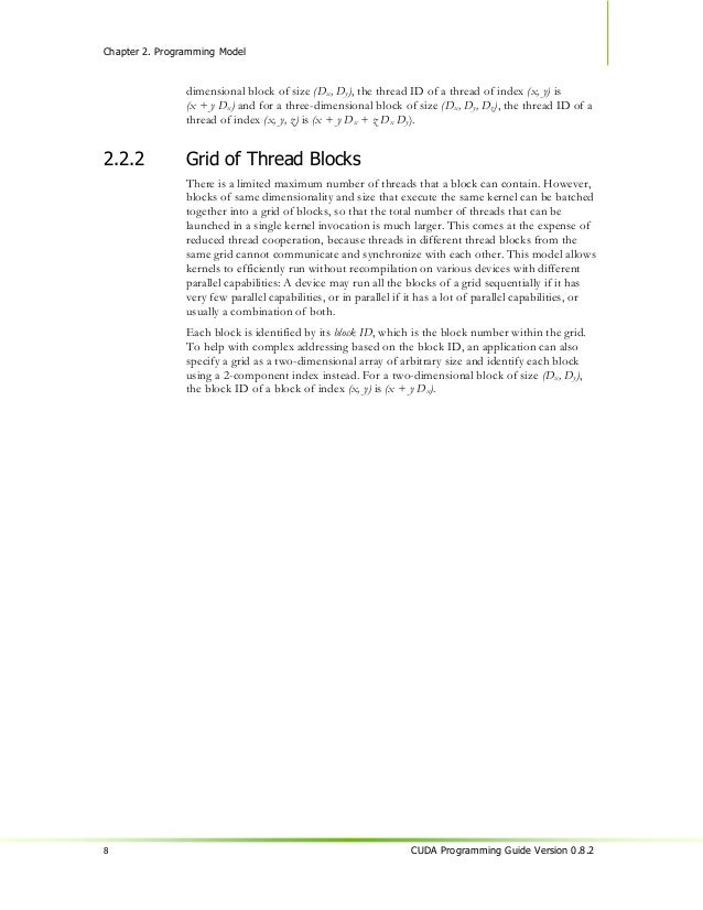 Chapter 2. Programming Model                  Host                          Device                                        ...