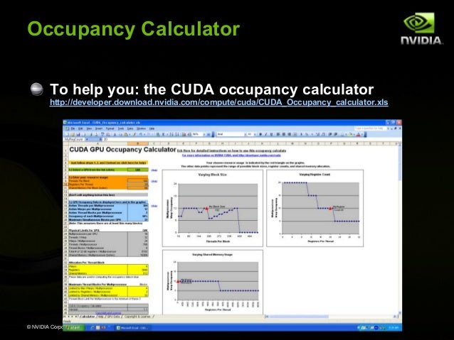 Nvidia Cuda Tutorial No Nda Apr08
