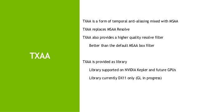 NVIDIA Gameworks, Libraries and Tools