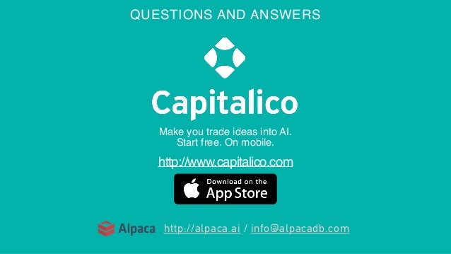 Capitalico / Chart Pattern Matching in Financial Trading