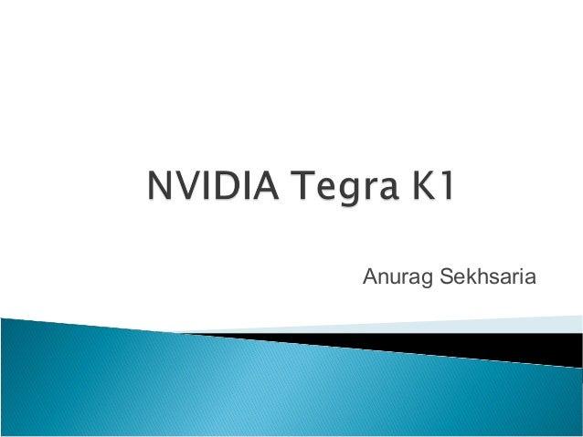 Nvidia tegra K1 Presentation