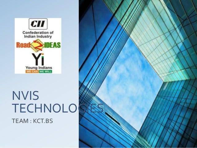 NVISTECHNOLOGIESTEAM : KCT.BS