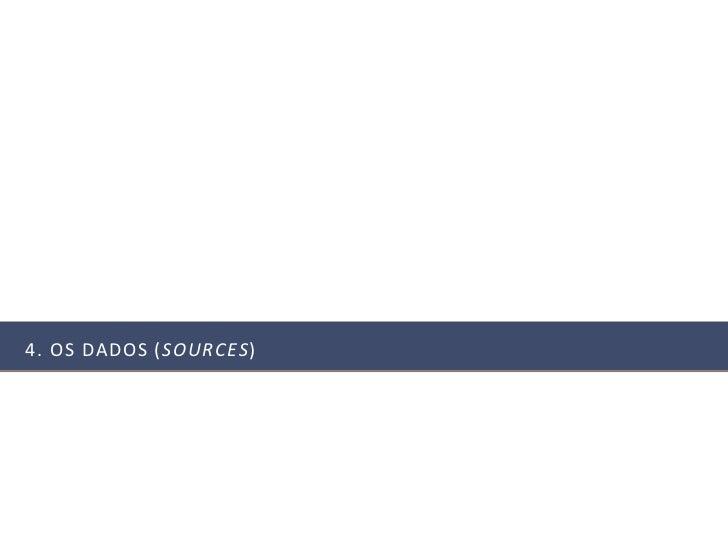 4. OS DADOS (SOURCES)
