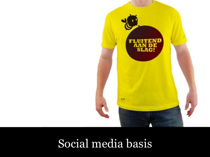 Sociale Media – Fluitend aan de Slag! Social media basis