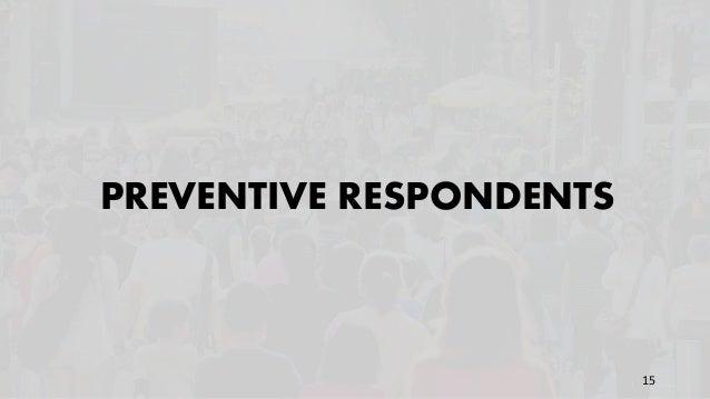 PREVENTIVE RESPONDENTS 15