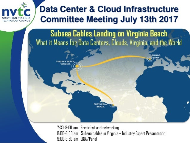 Subsea Cables Landing on Virginia Beach What it Means for Data Centers, Clouds, Virginia, and the World Data Center & Clou...