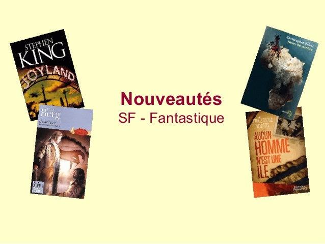 Nouveautés SF - Fantastique