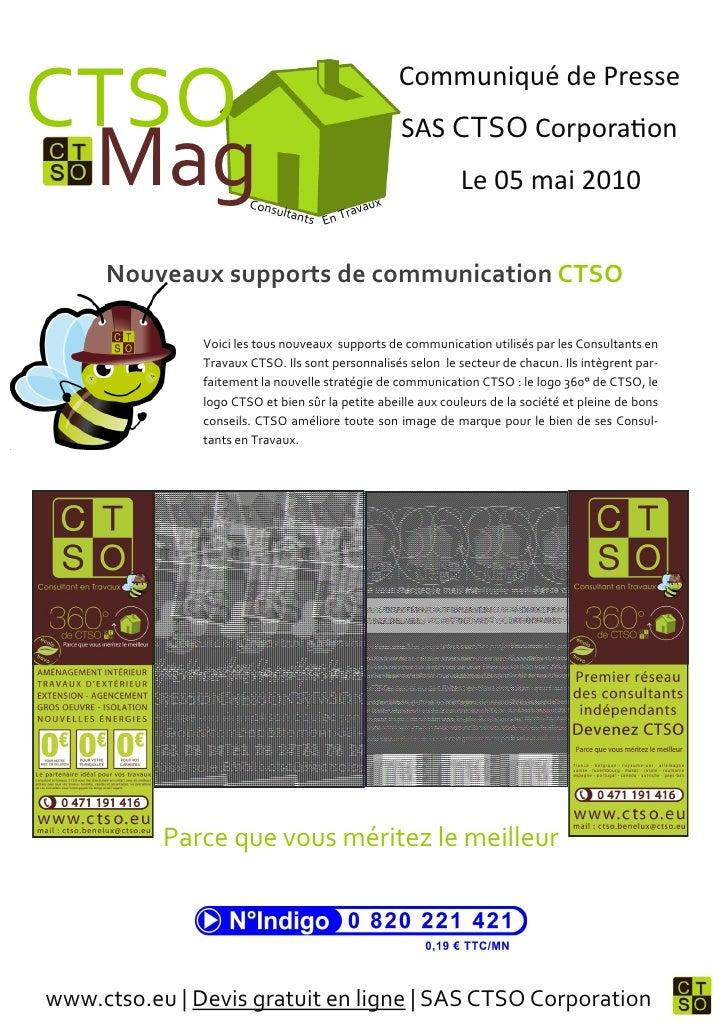 CTSO                                                Communiqué de Presse                                                  ...