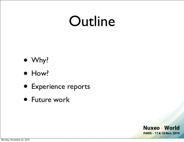 Nuxeo World Session: Mobile ECM Apps with Nuxeo EP Slide 2