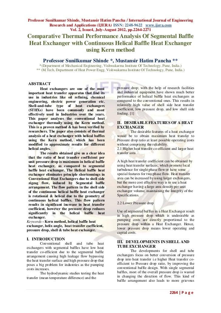 Professor Sunilkumar Shinde, Mustansir Hatim Pancha / International Journal of Engineering            Research and Applica...