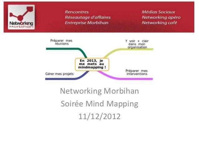 Networking Morbihan  Soirée Mind Mapping  11/12/2012