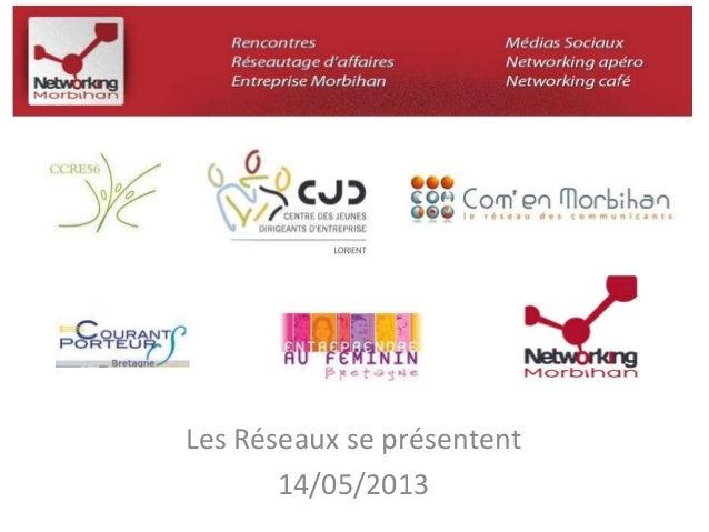 Les Réseaux se présentent  14/05/2013