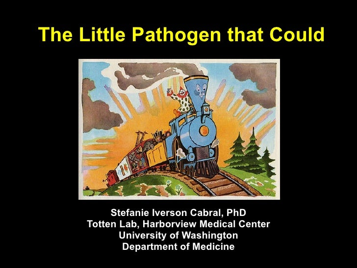 The Little Pathogen that Could Stefanie Iverson Cabral, PhD Totten Lab, Harborview Medical Center University of Washington...
