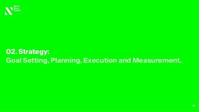 02. Strategy: Goal Setting, Planning, Execution and Measurement. 12