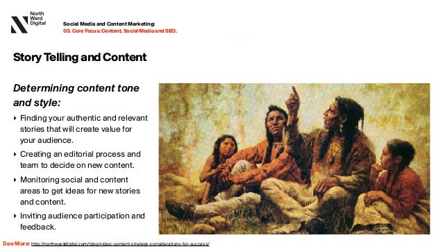 20.09.13 Determining content tone and style: ‣ Finding your authentic and relevant stories that will create value for your a...