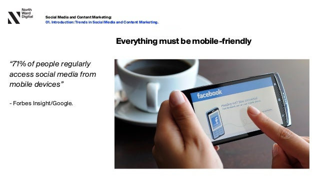 """20.09.13 Everythingmustbemobile-friendly """"71% of people regularly access social media from mobile devices""""   - Forbes In..."""