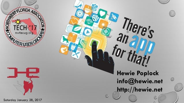 Hewie Poplock info@hewie.net http://hewie.net Saturday January 28, 2017