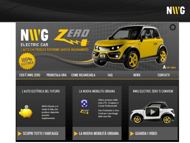 Auto elettricaLe auto elettriche sono una recente innovazione diprodotto del settore automobilistico e rappresentano unmer...