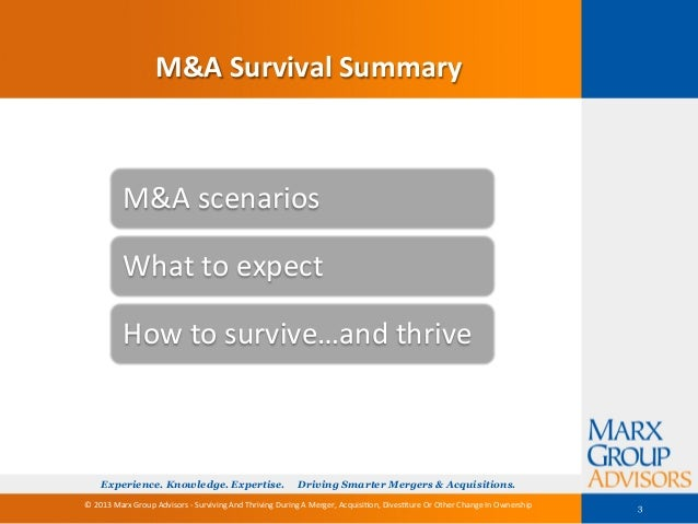 Surviving And Thriving Slide 3