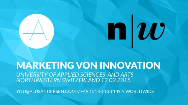 MARKETING VON INNOVATION