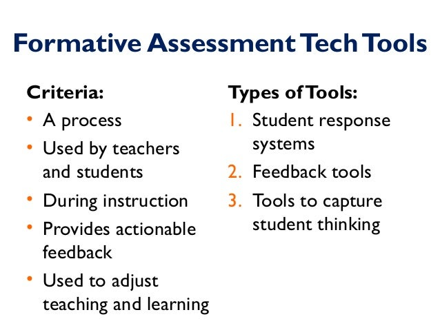 Charming Formative Assessment ...