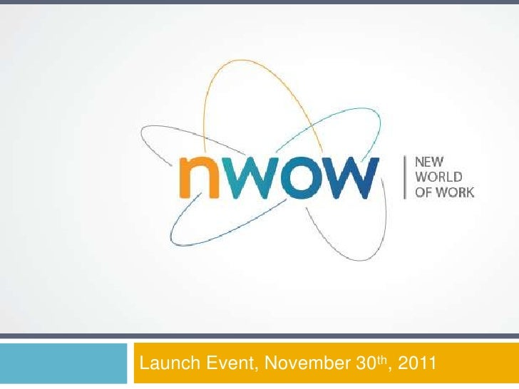 Launch Event, November 30th, 2011
