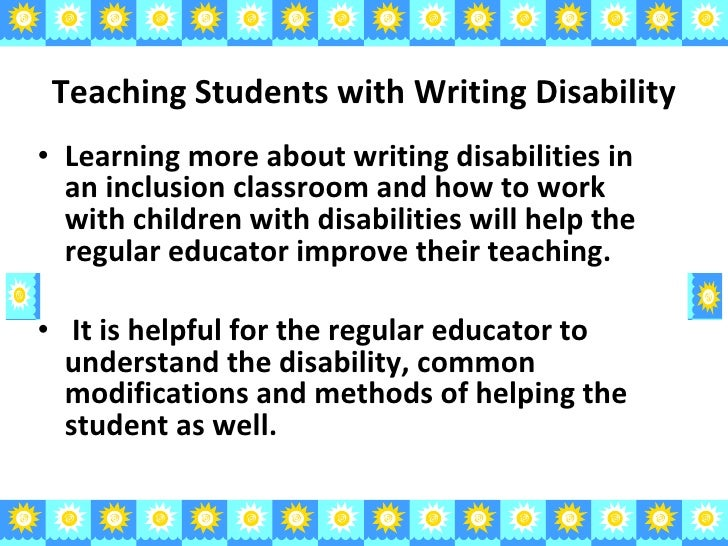 What Are Classrooms Like for Students with Learning Disabilities?