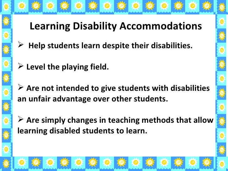children with learning disabilities essay Established by smart kids with learning disabilities, the fred j epstein youth   for the $1,000 scholarships, candidates must submit an application, essay,.
