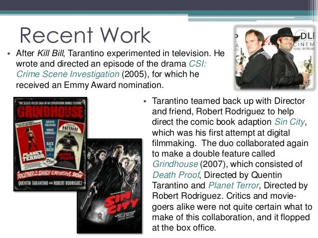 an analysis on quentin tarantinos films By leonard t grey the film inglourious basterds is not a world war 2 movie inglourious basterds analysis quentin tarantino.