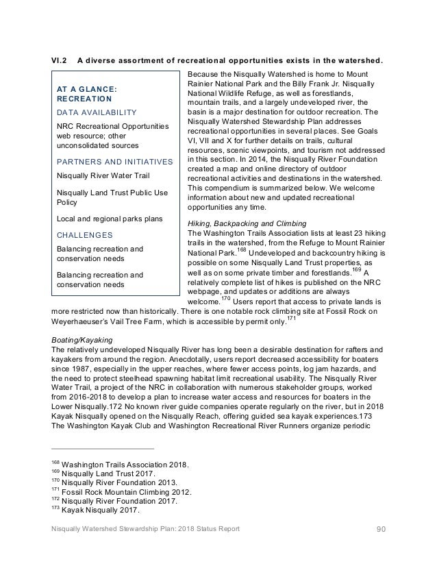 Nisqually Watershed Stewardship Report 8.16.19