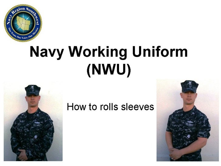 Navy Nwu Sleeve Rolling Instructions