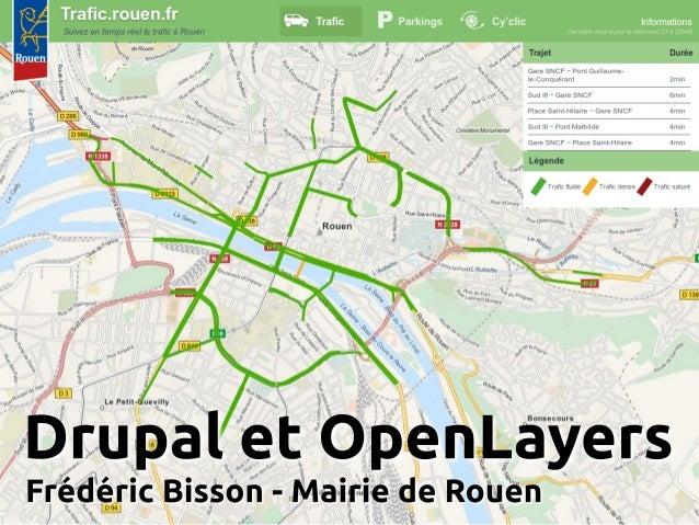 Conférence #nwxtech5 : Drupal et OpenLayers par Frédéric Bisson