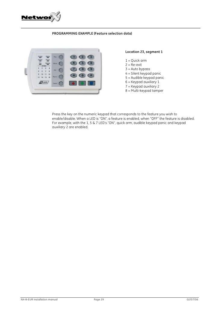 how to program caddx nx 8 installation sweetseven rh sweetseven882 weebly com caddx nx 8 manual caddx networx nx-8 installation manual