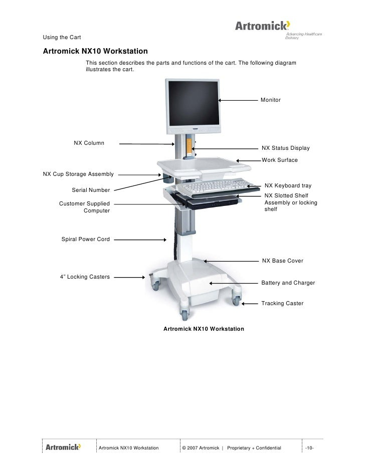 Artromick Nx10 Reference Manual August 2007 for Hospital