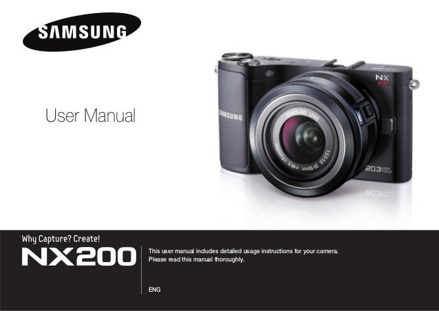 This user manual includes detailed usage instructions for your camera. Please read this manual thoroughly. ENG User Manual