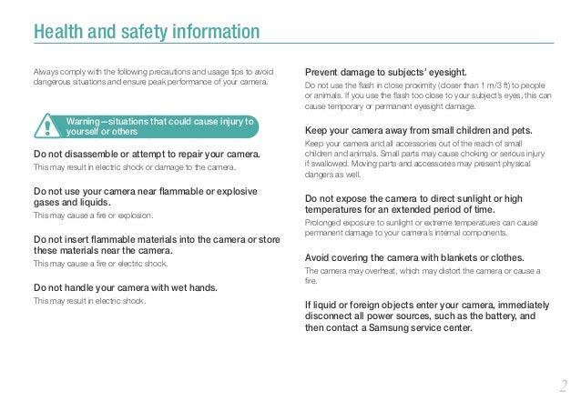 Samsung NX200 Manual / User Guide Slide 3