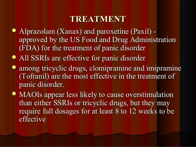 Anxiety Medication Tofranil