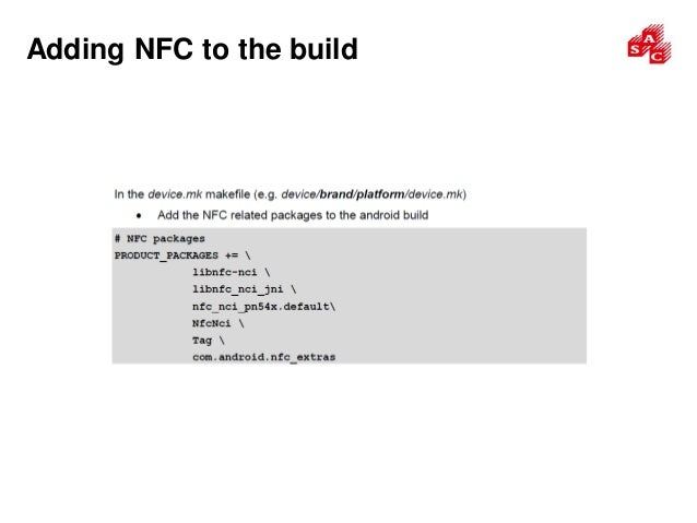 NXP NFC Android Porting Guide_2017 Jun