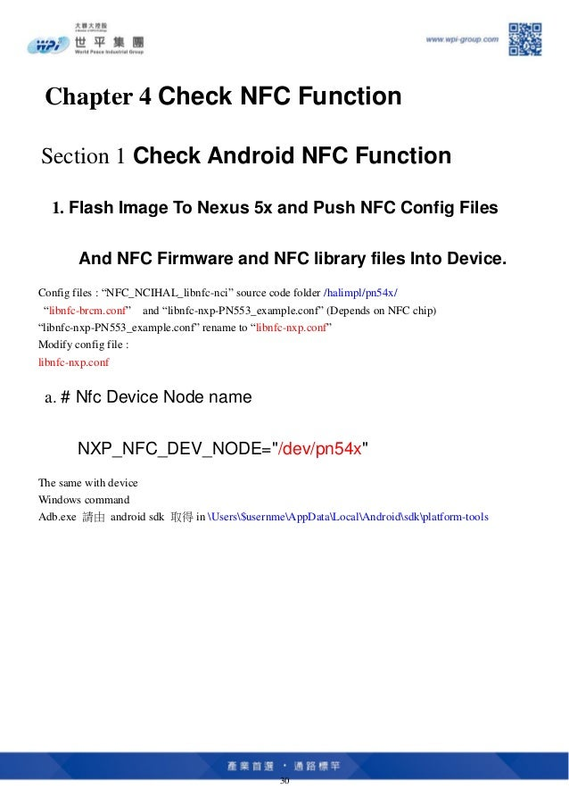 Nxp nfc pn553 porting on nexus 5 x for android oreo hands on