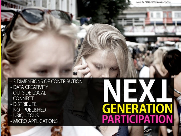 Next Generation Participation