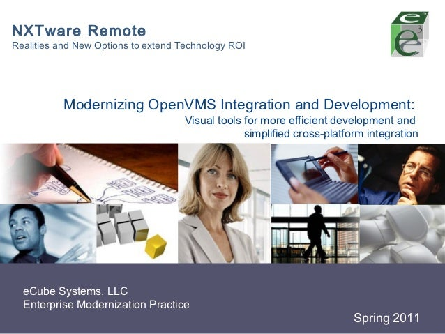 NXTware RemoteRealities and New Options to extend Technology ROI           Modernizing OpenVMS Integration and Development...