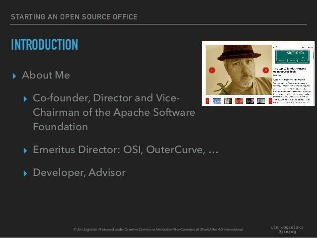 Starting an Open Source Program Office Slide 3